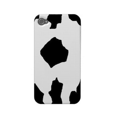 A fun cow print adds a chic motif to your iPhone.Cow Print, Favorite Cows, Prints Iphone, Cows Prints, Prints Design, Fun Cows, Prints Add, Customizable Cows