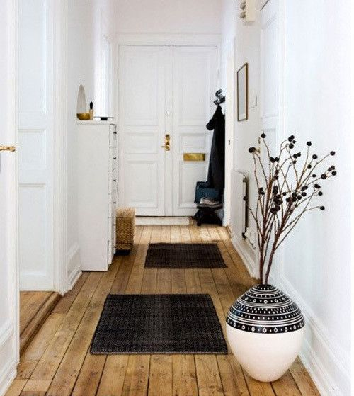 [祝!100人アンケート] シャビーシックなエントランスや廊下のインテリア47 の画像|賃貸マンションで海外インテリア風を目指すDIY・ハンドメイドブログ<paulballe ポールボール>