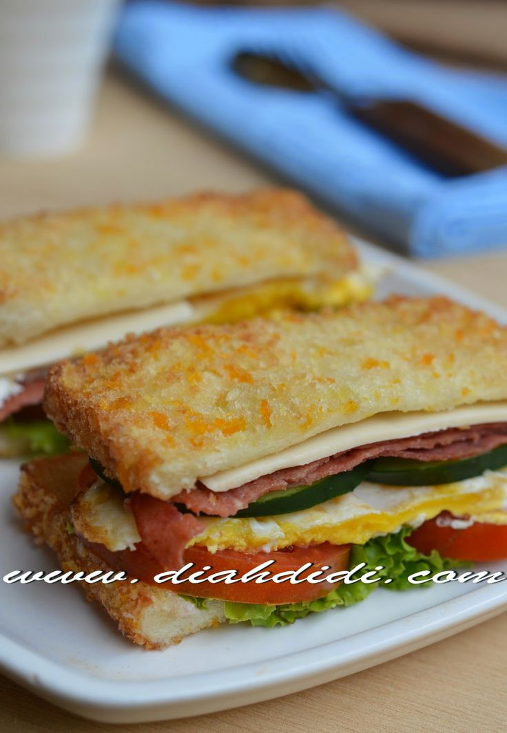 Diah Didi's Kitchen: Sandwich Goreng