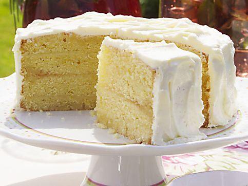 Mary Berry Lemon Fudge Cake Recipe