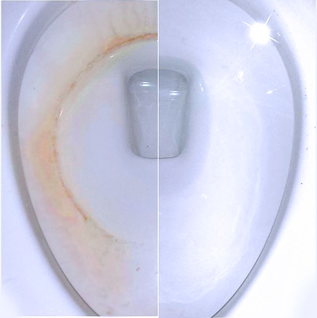 how to clear stuck toilet bowl