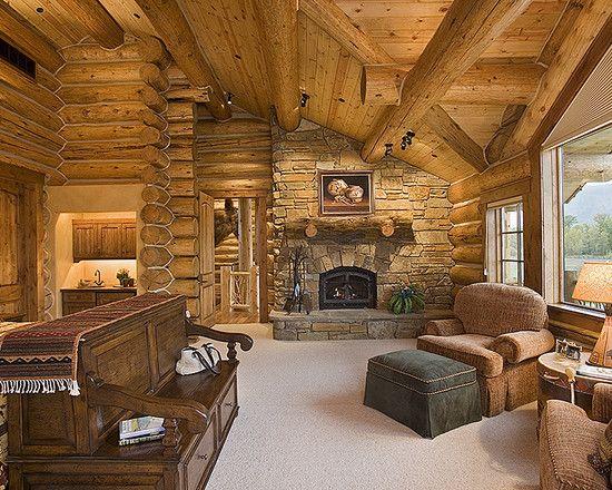 Best 25 log cabin bedrooms ideas on pinterest log cabin - Log cabin bedroom decorating ideas ...