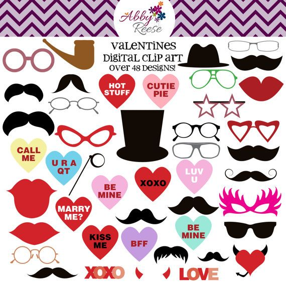 25 off  INSTANT DOWNLOAD  48 Valentines Day Party