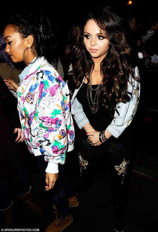 Leigh-Anne Pinnock with Jessi Nelson from Little Mix
