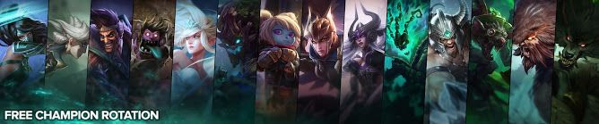 awesome Free Champion Rotation, Week of October 10th