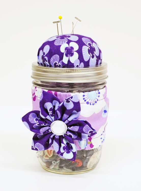 Cute sewing jar :)