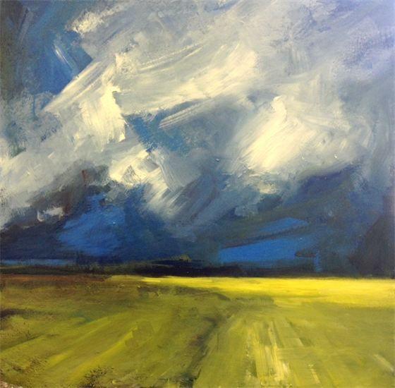 Parastoo Ganjei's paintings - Landscape Paintings