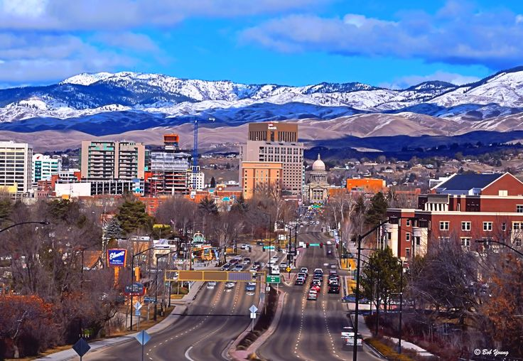 The 10 Best Cities to Move to in 2015 | SML - pictured is Boise, Idaho.
