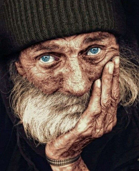 old male. rugged/worn look