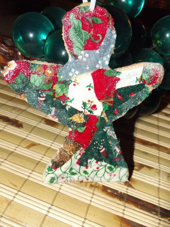 Bread Dough Salt Dough Ornament Angel by RosieMcVintage on ...