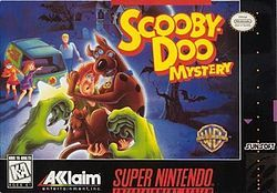 """Scooby-Doo Mystery - released by Acclaim Entertainment in 1995 based on the Scooby-Doo animated series. Players take control of Shaggy Rogers & Scooby-Doo, who help solve various mysteries with other members of Mystery Incorporated who serve minor roles during gameplay. The object of the game is to find clues to solve each of the 4 mysteries in the game. These clues can be obtained by finding them in the open, completing a specific task, or having Scooby """"sniff out"""" hidden clues in each…"""
