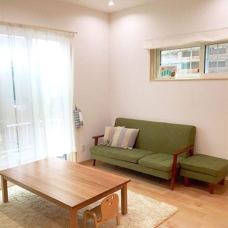 ニトリ×ブリアールのインテリア実例 | RoomClip (ルームクリップ) Lounge/無印良品/IKEA/ソファ/ラグ/ローテーブル/ニトリ/
