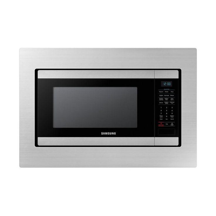 Samsung Microwave Trim Kit 30 Inch Stainless Steel