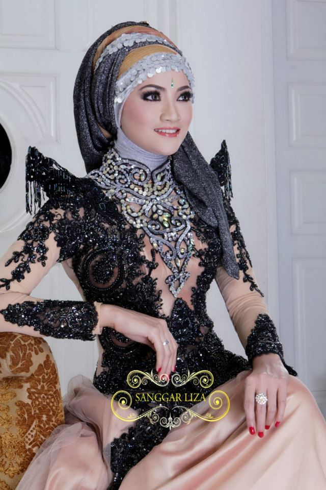 Kebaya with Hijab