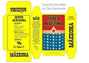 Caixa Super Mãezona