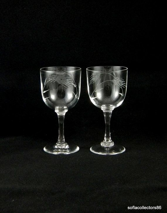 Sherry / Port Wine Glasses by Mystic Co. Ltd by soflacollectors86, $11.00