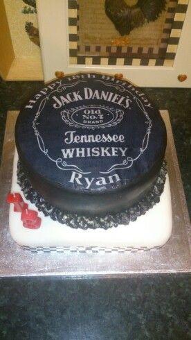 Jack daniels bday cake