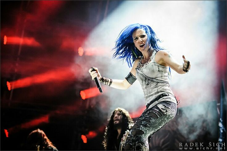 #alissa white-gluz #masters of rock #arch enemy #vizovice #scream for me #sichr.net /photography by Radek Šich