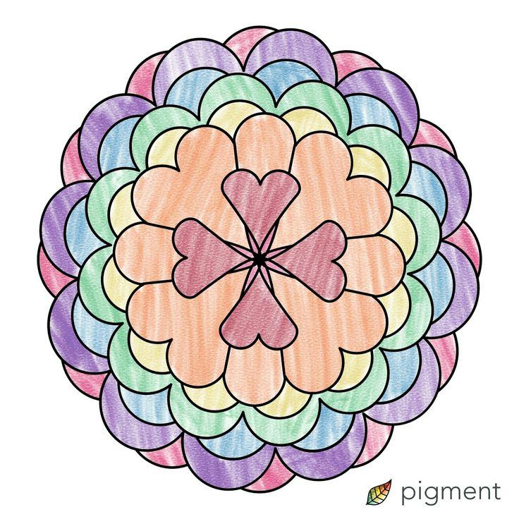 Best 14 Pigment Coloring App images on Pinterest | Pigment coloring ...