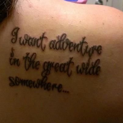 My tattoo! :) Beauty and the Beast Quote | Tattoos ...