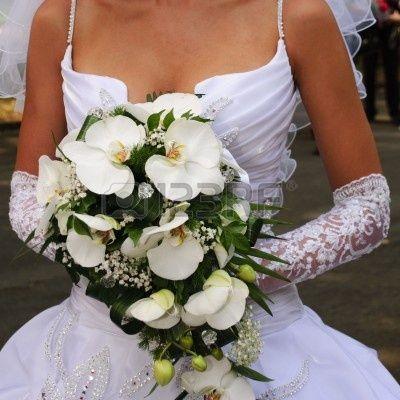 6331364-sposa-tenere-il-bouquet-di-orchidee.jpg (400×400)