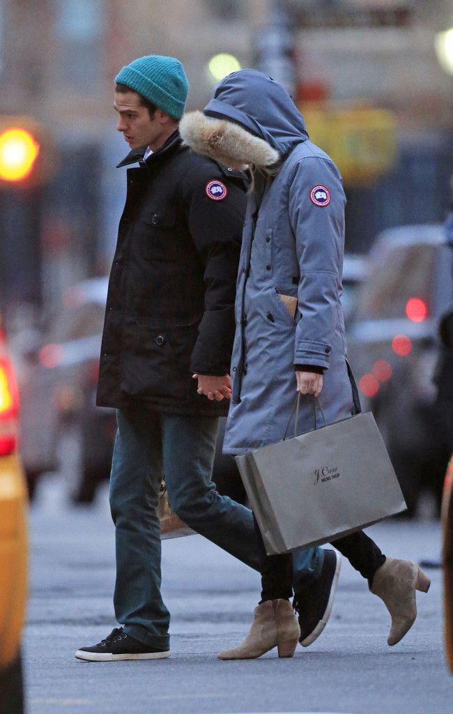 8d96037e5d Emma Stone Photos Photos  Andrew Garfield and Emma Stone use Canada ...