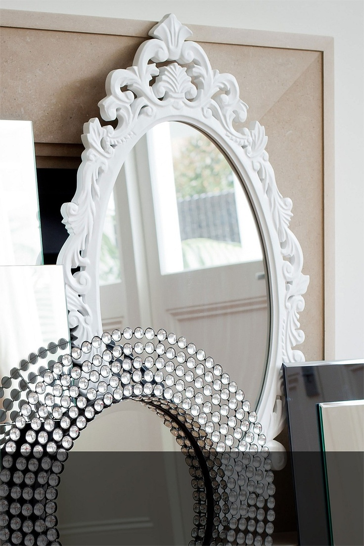 """classic """"french style"""" mirrorRedecorating Ideas, Decor Inspiration, Awesome Mirrors, House Stuff, Bedrooms Furniture, 99 Enrico, Enrico Mirrors, Bright Colours, Mirrors Mirrors"""