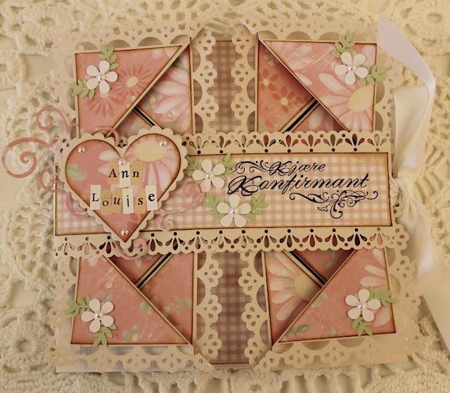 Gorgegous fold card
