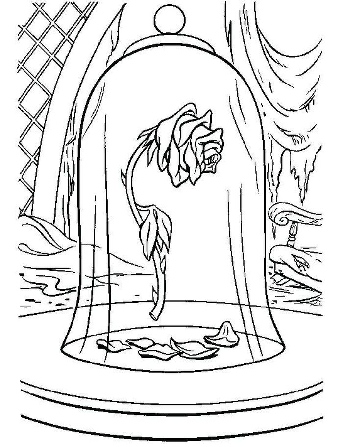 Rose Coloring Pages Printable In 2020 With Images Rose