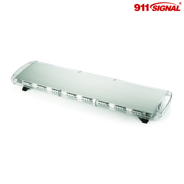 The F912 LED Light bar is the TIR version of our full size police light bar for emergency vehicles, featuring single-Watt LEDs.