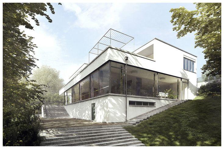 Villa Tugendhat 3D Recreation by Lasse Rode