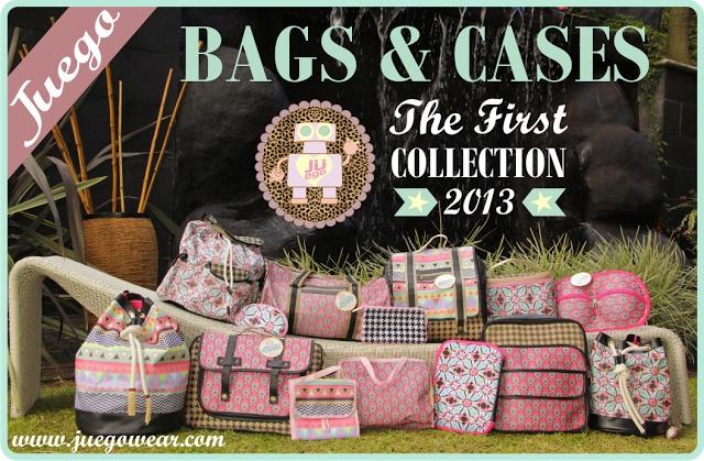 Primera Colección JUEGO 2013 Bags & Cases.