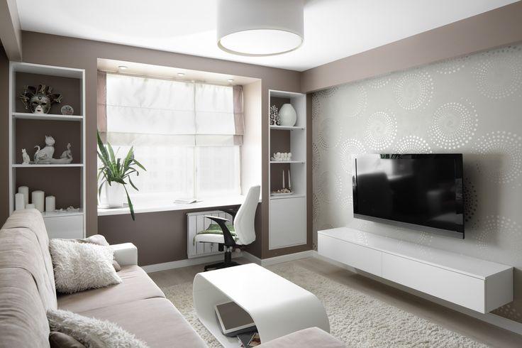 In een woonkamer is het belangrijk dat de muren afwasbaar zijn. Dit is makkelijk als u kleine kinderen heeft of als er bijvoorbeeld een feestje gegeven wordt.