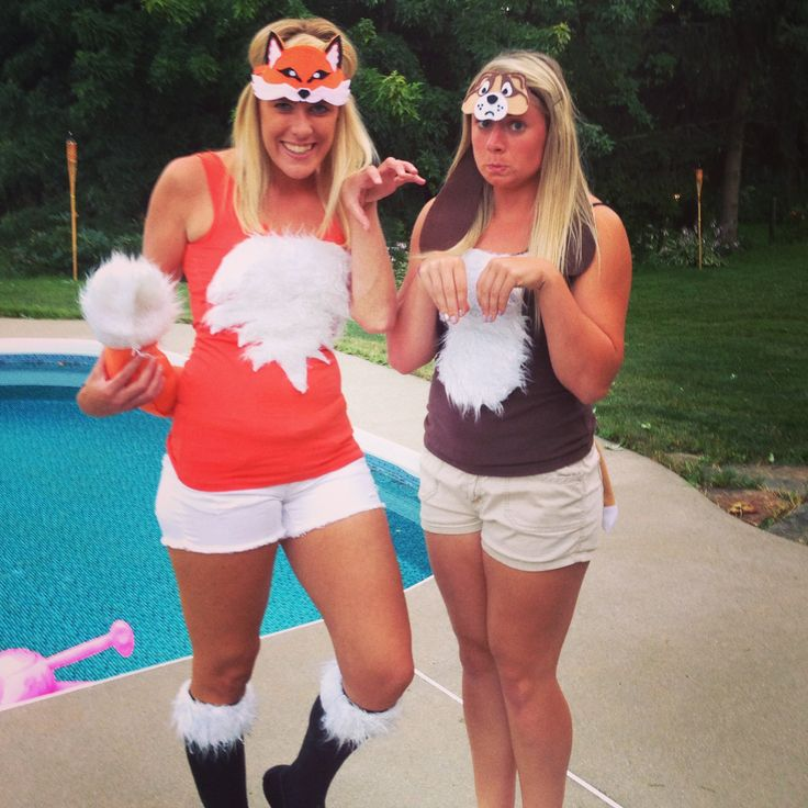 the fox and the hound halloween costumes omg this is perfect for best friends - Best Friends Halloween Ideas