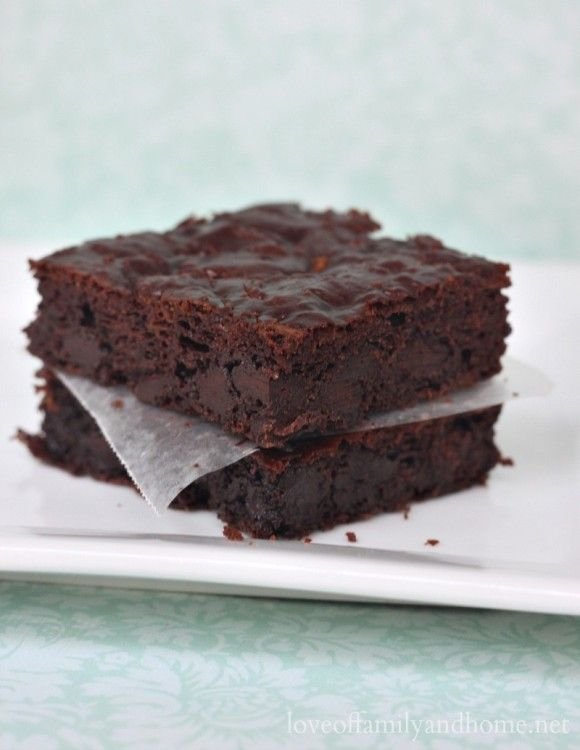 Paleo Zucchini Brownie Recipe - Love of Family & Home