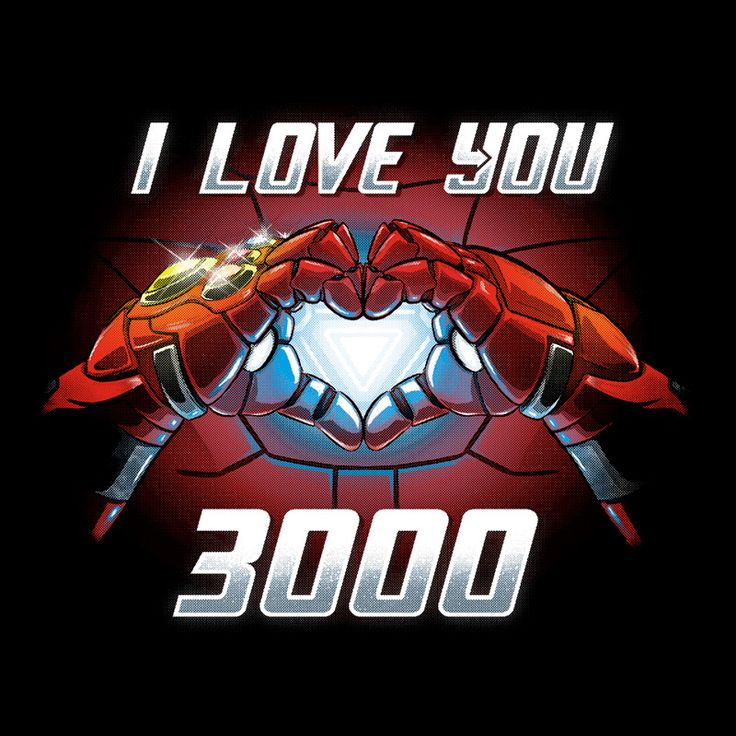 I Love You 3000 by Alemaglia & NemiMakeit – Pampling.com T-shirts