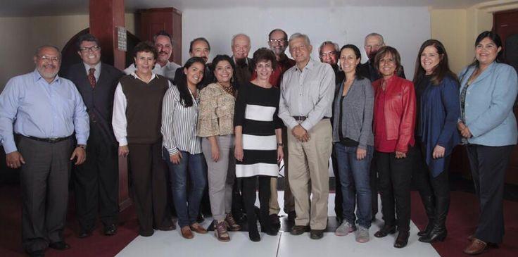 AMLO da a conocer candidatos de Morena a las 16 delegaciones del DF