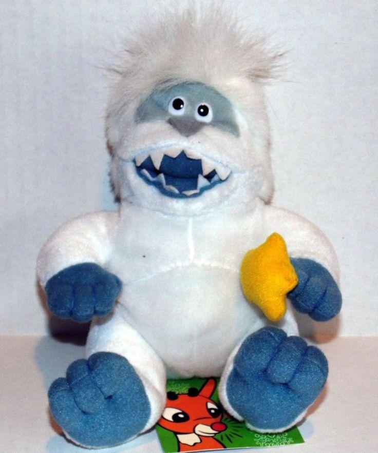 1998 CVS Drugs Bumble Abominable Snow Monster Rudolph Island Misfit Plush NT #CVS