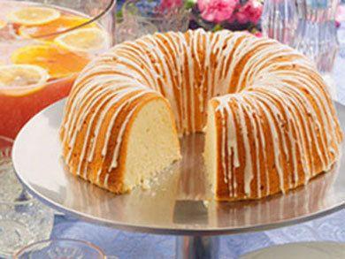 Million Dollar Pound Cake | mrfood.com (with high altitude adjustments)