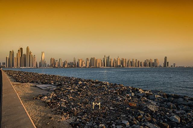 Sunset from The Palm Jumeirah.  The Noble House Real Estate specializes in marketing extraordinary homes matching sophisticated buyers with properties in Dubai.  The Noble House Real Estate specializes in marketing extraordinary properties in Dubai and se