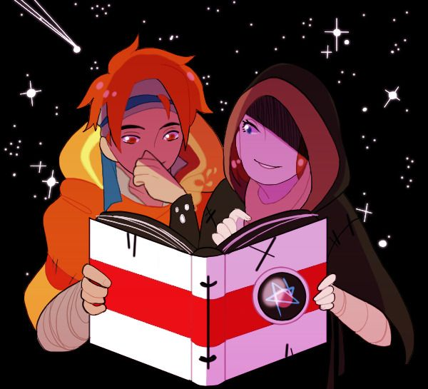 """""""Don't mind me. It's just, I've often wondered what it must be like to read. Maybe it's not too late to learn with you around."""" -by micheeart. Pyre from Supergiant Games"""