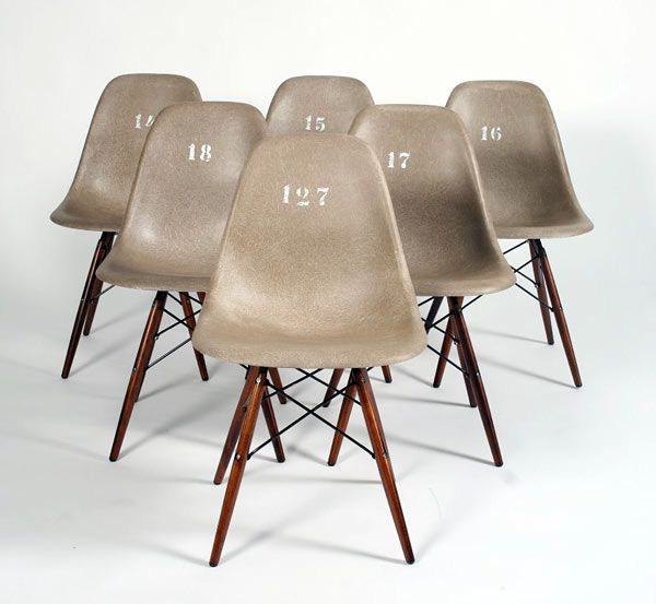 Original Eames DSW Designed For The American Soldiers Stationed In Germany    Danish Auction, Probably
