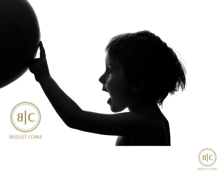 Bridget Corke Photography - Pregnancy Shoot on White Studio Background: