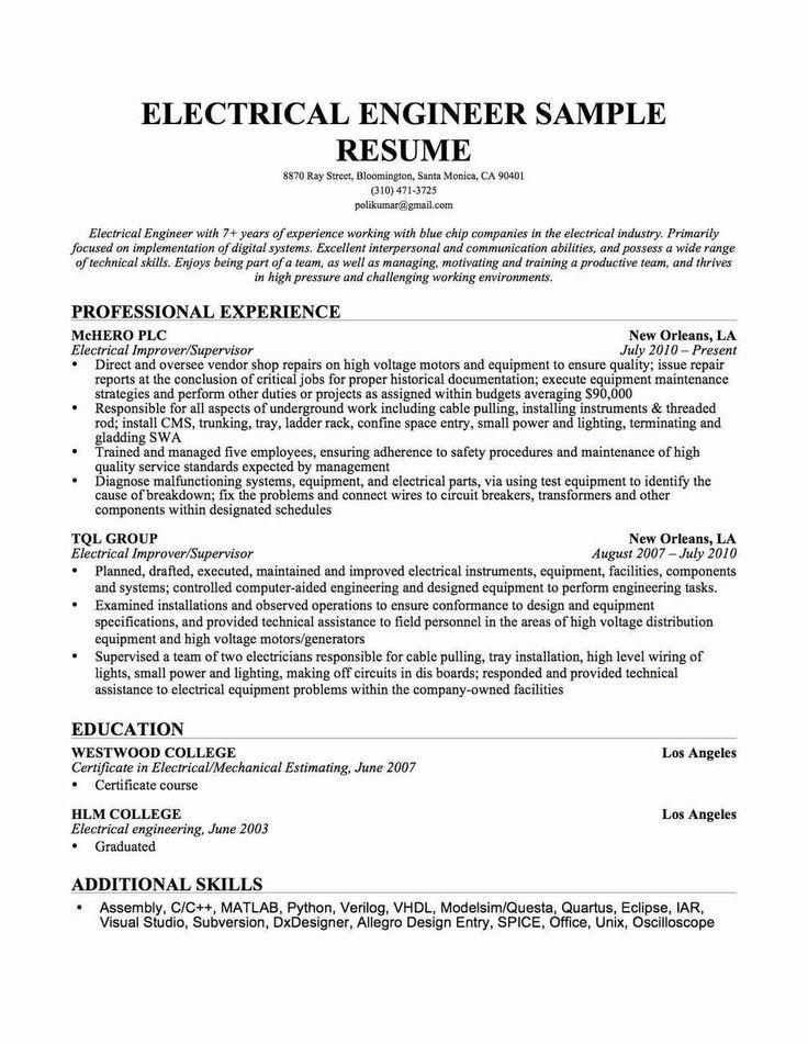 Xlri Resume Format Engineering resume, Resume, Resume skills