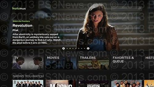 Hulu Plus PS3 Update, New Improved Navigation and Discovery