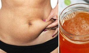 mezcla que derrite la grasa del abdomen en solo 4 dias