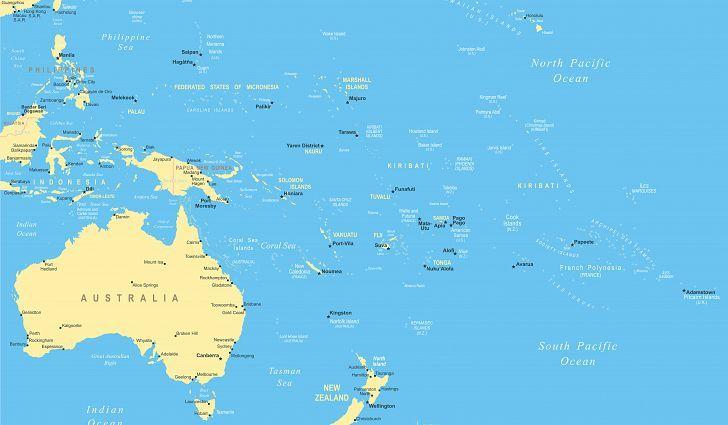 Pacific Ocean Islands Map What Is Oceania? | Heaven Paradies rainbow fairy angel