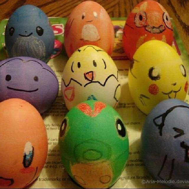 Get festive with the Pokemon Easter Eggs.