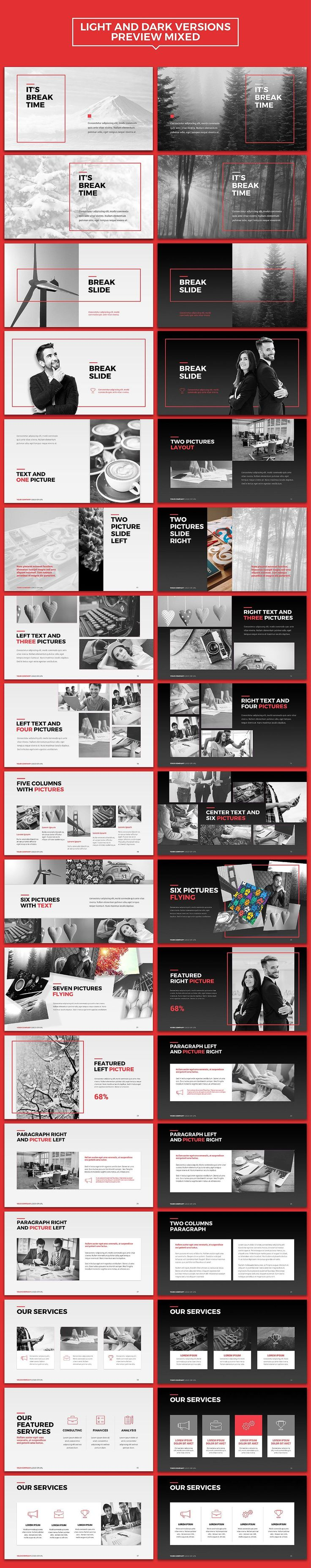NEO Multipurpose Powerpoint Template by INTERARTIVITY o...