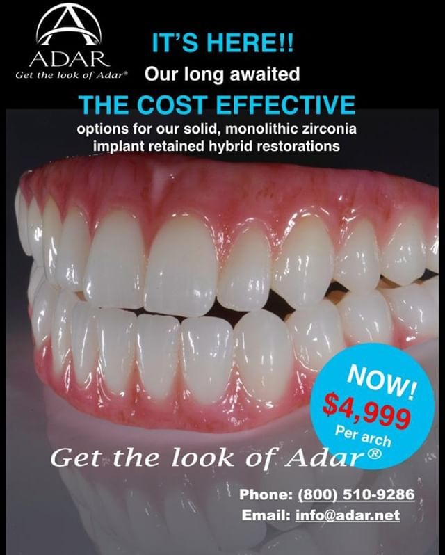 We Lowered Our Price Yes But Don T Think We Lowered Our Standards We Have Just Added Another Option With A Slightly Different Work Process Dental